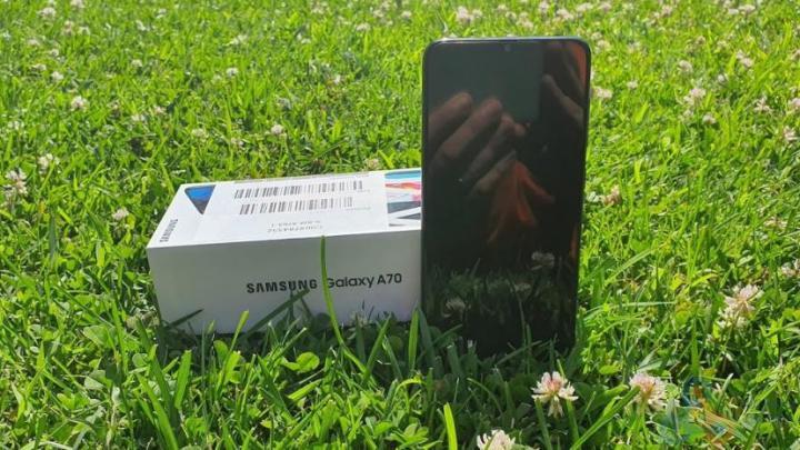 Samsung Galaxy A70 - Samsung Galaxy A70 as primeiras impressões