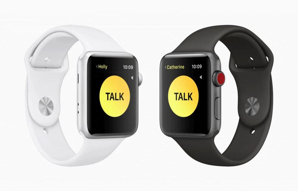 walkie talkie - Recurso walkie-talkie do Apple Watch temporariamente desactivado