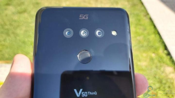 Análise LG V50 ThinQ