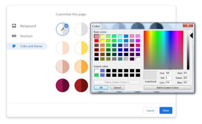Chrome 77 beta - Chrome 77 chega com modo escuro melhorado e temas personalizados