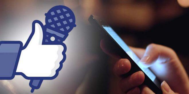 Facebook ouve conversas