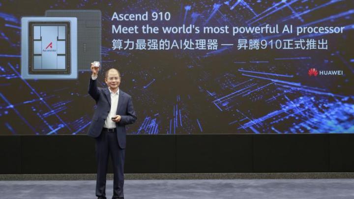 Huawei  - Huawei lança processador de Inteligência Artificial mais potente do mundo e framework IA para todos os cenários