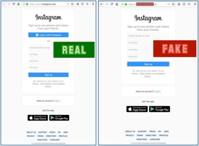 phishing Instagram - Novo ataque de phishing ameaça todos os utilizadores do Instagram