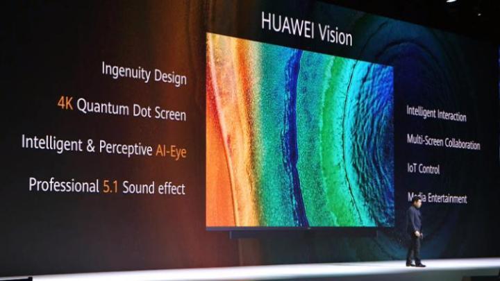 Huawei Vision 2 - Huawei Vision é agora oficial: TV 4K, com Quantum Dot e o HarmonyOS