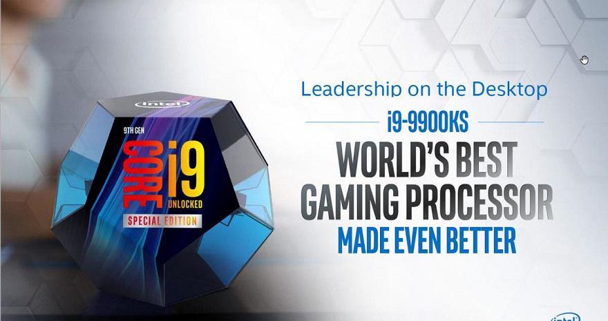 Intel i9 9900KS - Intel vai lançar o Core i9-9900KS em Outubro