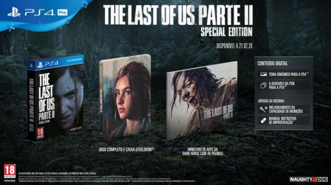 The Last of Us Parte II 2 - PlayStation revela Edição Exclusiva de reserva de The Last of Us Parte II