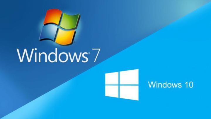 Windows 7 para Windows 10