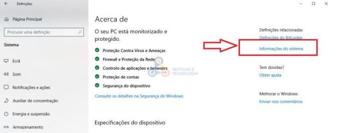 efeitos visuais Windows 10