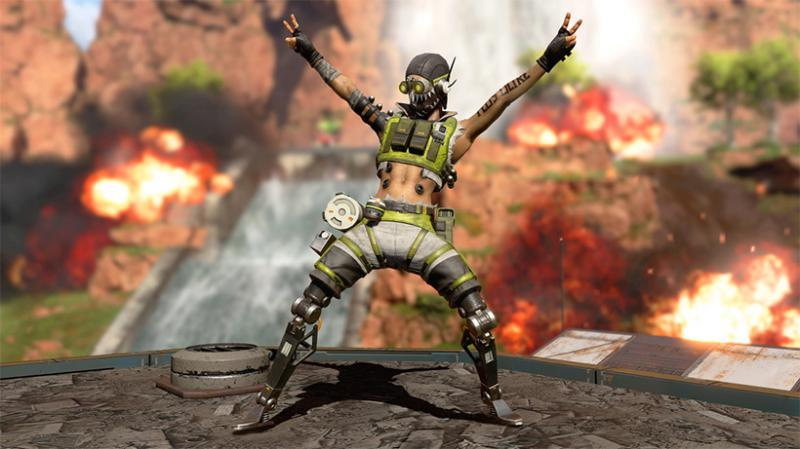 Apex Legends Octane abril