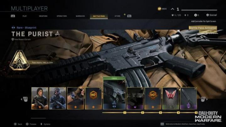 armas Modern Warfare