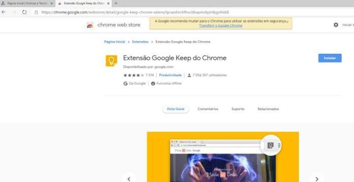 Microsoft Edge segurança