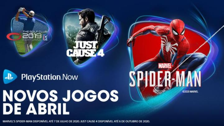 PlayStation Now Abril 2020