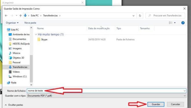 guardar página Windows 10