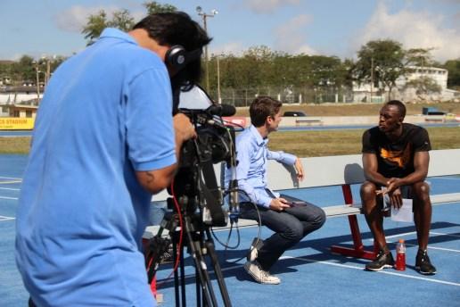 """""""Esporte Espetacular"""" hoje (31/03/2013): 'Usain Bolt busca sua melhor marca em Copacabana'"""