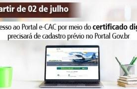 Portal e-CAC, da Receita Federal, recebe mais uma opção de acesso aos diversos serviços virtuais