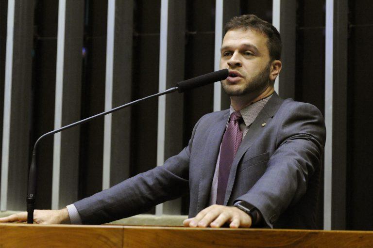 Cerimônia Pelo Brasil e contra a Corrupção. Dep. Charlles Evangelista (PSL - MG)