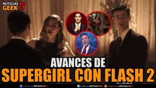 Supergirl y Flash Crossover Musical - Avances