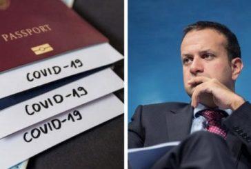 Leo Varadkar confirmó que Irlanda introducirá pasaportes de vacunación