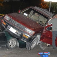 POLICÍACA: Triple choque está noche en colonia INALAPA en La Paz