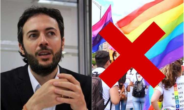 Daniel Quintero dice que el apoyo LGTBI es un boicot