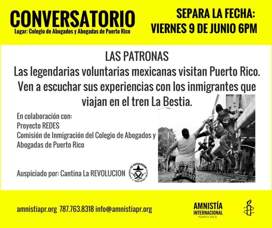 Amnistía Internacional Puerto Rico traerá a las Las ...