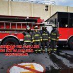 Incendio en departamento en Coyoacán