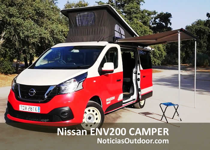 nissan env200 camper espana