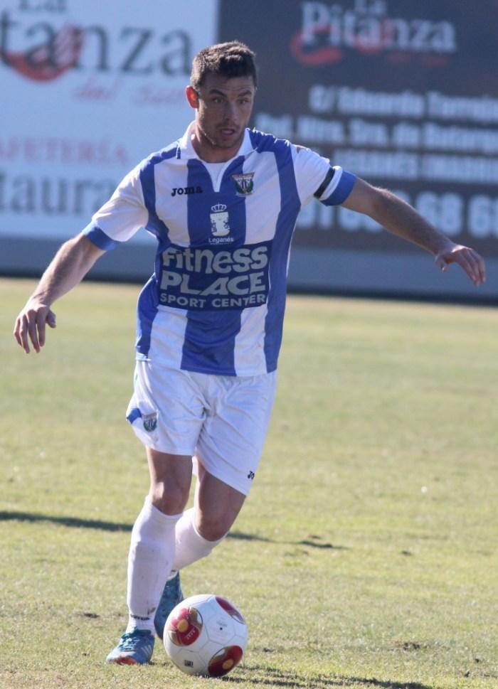 Alberto Martín, jugador del CD Leganes