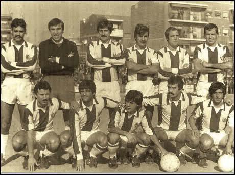 La plantilla del CD Leganés en 1978