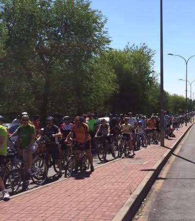 de la Fiesta de la Bicicleta de Alcorcón 2014