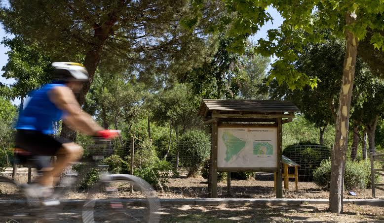 Senda Botánica Parque Polvoranca