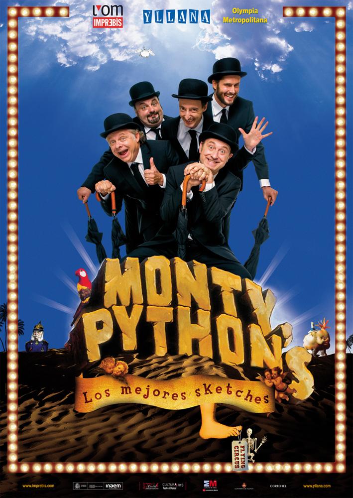 Cartel Monty Phyton 70x100 2013.ai