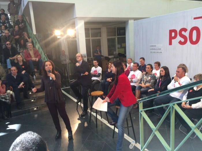 Sara Hernández, candidata de PSOE Getafe, en el III Encuentro en Igualdad