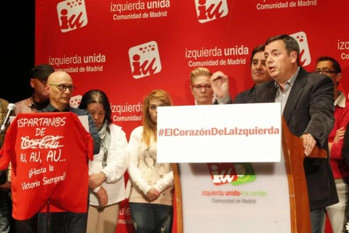 Jesús Saiz, candidato de IU Parla