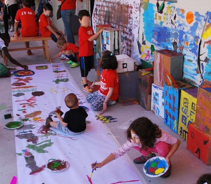 Actividades y talleres para niños en el Día de la Familia de MOVER Parla