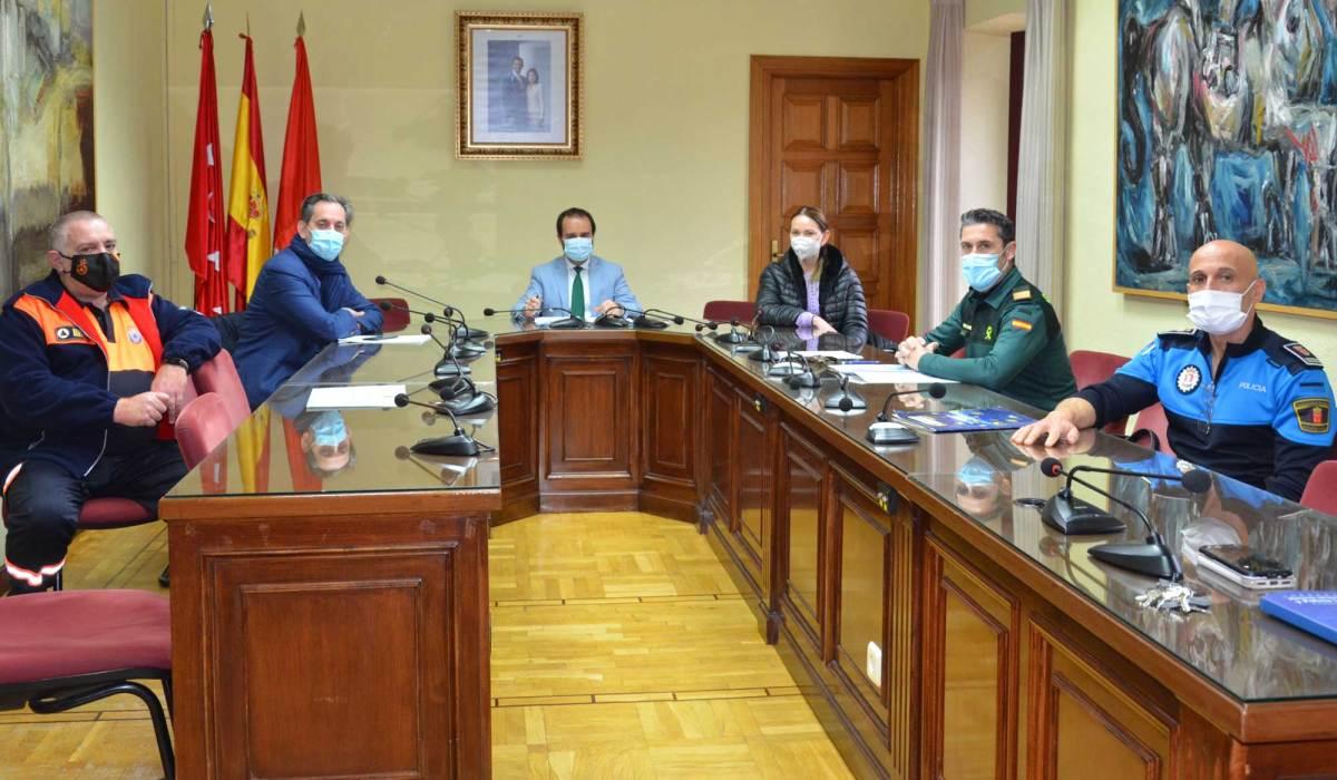 Reunión de la Junta de Seguridad en Guadarrama