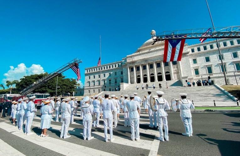 Gobernador recuerda a víctimas y honra a rescatistas en actos de conmemoración por ataques terroristas del 9/11