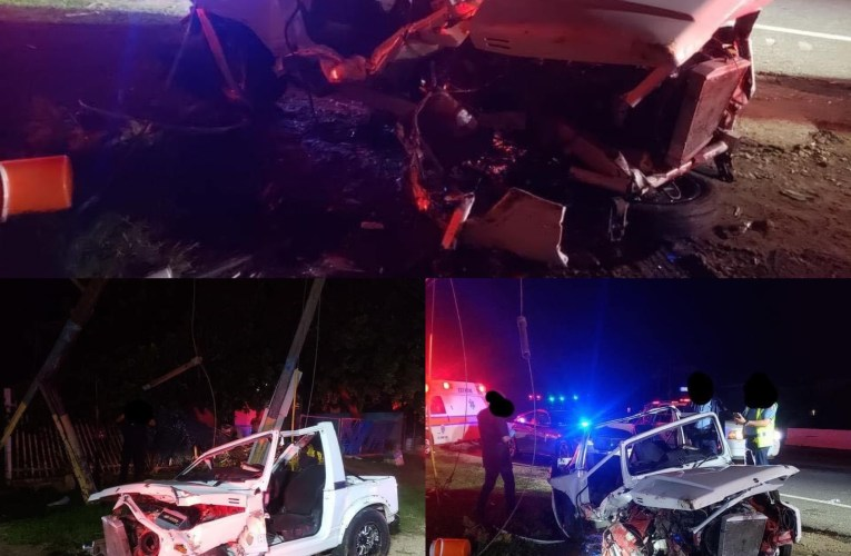 Accidente grave con objeto fijo a exceso de velocidad deja un pasajero grave en Aguadilla