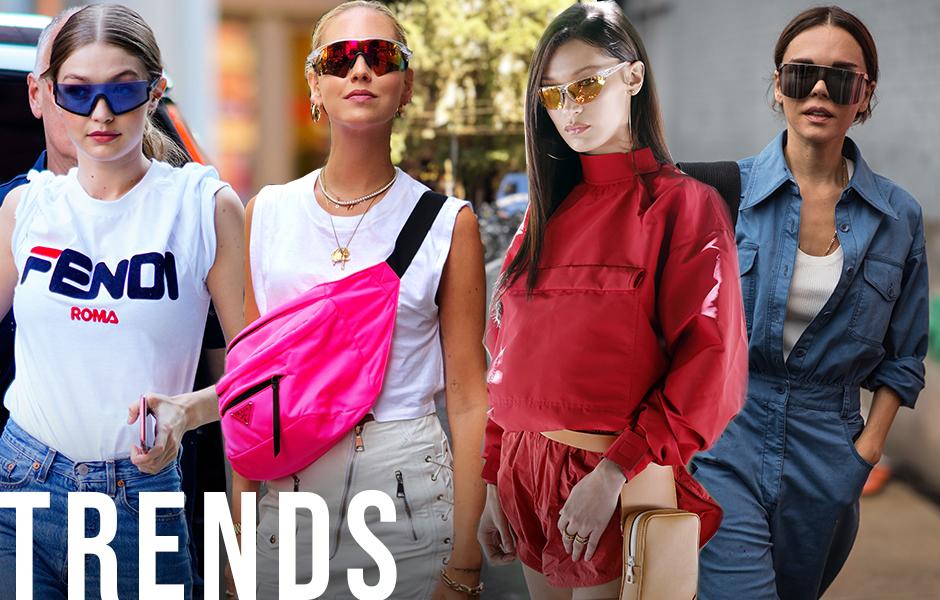Tendencias: las gafas de sol deportivas son la última obsesión de la moda