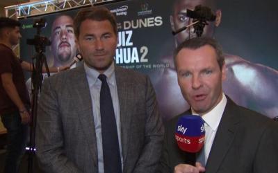 Eddie Hearn confirma la venganza de Joshua / Ruiz por el Medio Oriente