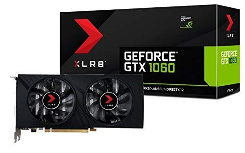 PNY KF1060GTXXR6GEPB – Tarjeta gráfica (GeForce GTX 106…