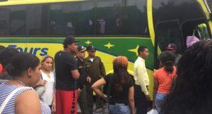 AMET detienen autobús de Caribe Tours por transitar sin marbete