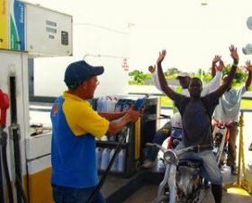 Bajan RD$3.00 al gas propano