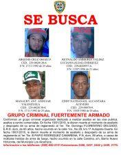 PolicíaRD busca grupo criminal fuertemente armado por muerte de agentes