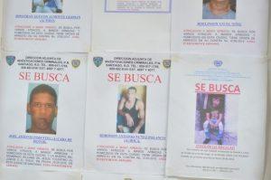 Ocho más buscados en Santiago tienen prontuario de homicidios