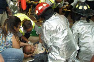 Un francés borracho cae del tercer nivel del Aeropuerto Las Américas