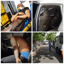 Identifican muerto y herido encontrado en jeepeta en Santiago