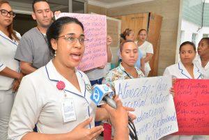 Enfermeras paralizan servicios en hospitales de la región Norte