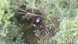 Vehiculo cae desde un puente dejando 4 muertos y 3 heridos en Santiago Rodriguez