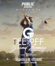 CELEBRARAN TORNEOS TEE OF by GRAND THOMAS CELEBRITY CUP